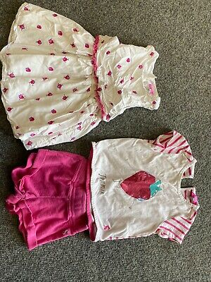 Joules Strawberrry Dress /t Shirt And Shorts See Photos Of Wear