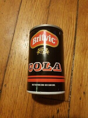 Ultra Rare Mini Britvic Cola Can England 1985 150ml Red Top