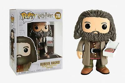 """Funko POP Figures Hagrid 6/"""" with the cake #78 Harry Potter"""