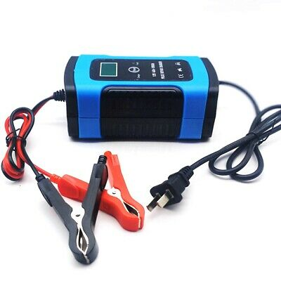 Car Battery Charger 12V 6A Automatic Intelligent Pulse Repair Lead Acid AGM GEL