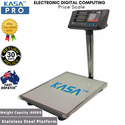 Electronic Digital Computing Price Scale 600KG Weight Platform Scales