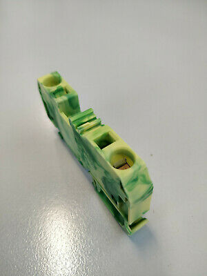 Wago  284-907,   Terminal Block,   Earth,  Din,   57A           Z2466