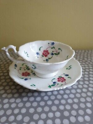 Vintage China Tea Cup And Saucer. Delicate Floral Decoration
