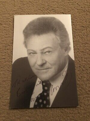 Trevor Bannister (Are You Being Served) Signed Photo