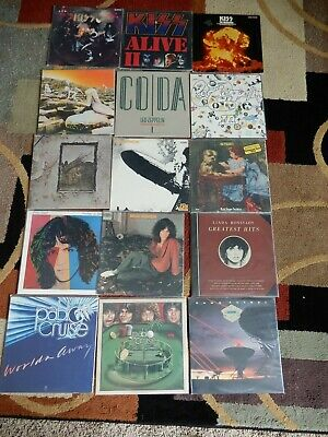 VINYL!! ALBUM MUSIC RECORDS  LP ROCK 70'S,80'S Classic Rock  COMBINED SHIPPING