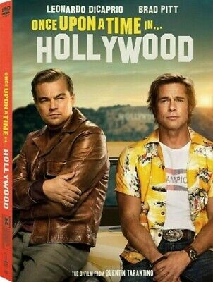 Once upon a Time in Hollywood DVD New & Sealed Free Shipping Included