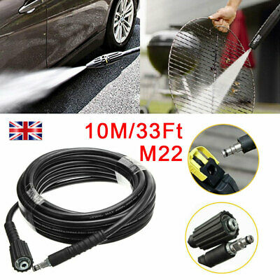 6/10M High Pressure Washer Hose M22 Jet Water Clean Pipe for Karcher K2 K3 K4 K5