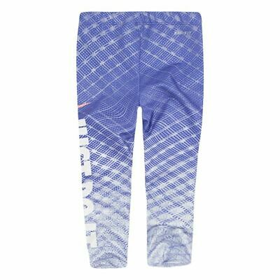 Nike Official Girl's Sports Leggings Gymnastics  Age 4 years Blue