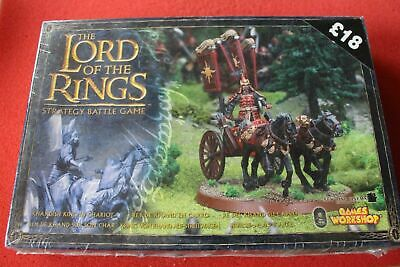Games Workshop Lord of the Rings Khandish King in Chariot BNIB Metal Harad New