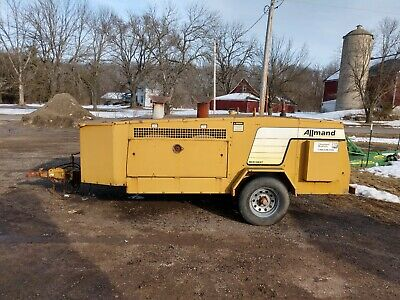 ALLMAND MH1000 Towable heater, INDIRECT FIRED CONSTRUCTION HEATER