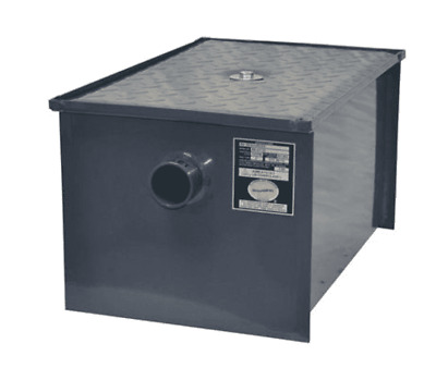 Restaurant Equipment BK-GT-8: 8LB/4GPM GREASE TRAP