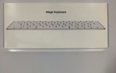 Apple Magic Keyboard (Wireless, Rechargable) Silver MLA22LL/A NEW Sealed in OG