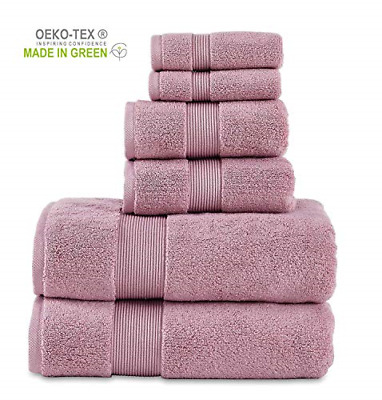 Premium Hotel /& Spa Quality Highly Abs 100/% Cotton 804 GSM 6 Piece Towels Set