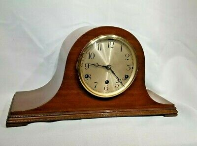 Art Deco Westminster Chime Mantle Clock Working Order
