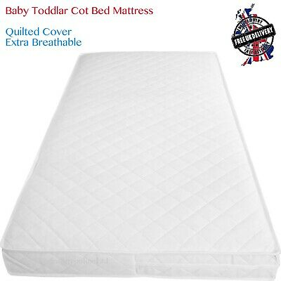 NEW BREATHABLE THICK TRAVEL COT MATTRESS FIT 100 X 70 X 7.5 CM