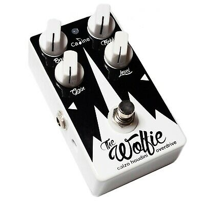 Caline Wolfie Overdrive Guitar Pedal (white) - Calzo Signature Limited Edition