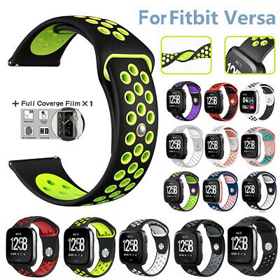Replacement Silicone Wristband Sports Band Strap for Fitbit Versa Watch Wrist