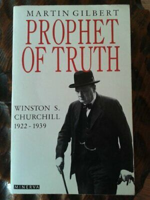 Churchill, Winston S.: Prophet of Truth v. 5 by Gilbert, Martin Hardback Book
