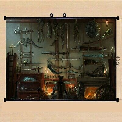 Video Game Bloodborne Silk poster wallpaper 24 X 13 inches