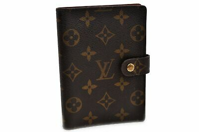 Authentic Louis Vuitton Monogram Agenda PM Day Planner Cover R20005 LV 92351