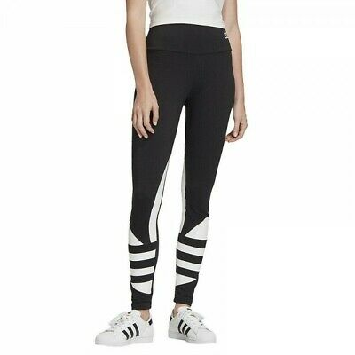 Leggins Sportivo Adidas Large Logo Tight FQ6822 Orginals Fitness Da Donna Nero