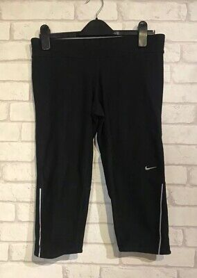Nike Running Dri-Fit Womens Tight Fit Capri Cropped Leggings Size M - New