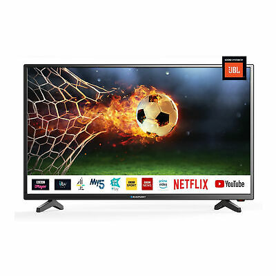 "Blaupunkt 32"" Inch HD Ready LED Smart TV with JBL Speakers and Freeview Play HD"