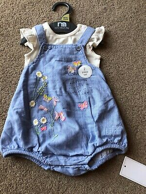 Mothercare Baby Girls Spring Summer Floral Romper Up To 1 Month