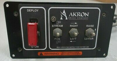 Akron Brass DeckMaster Control Panel Toggle Switch Operator Station