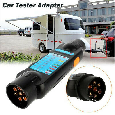 Wiring Circuit  Car Adapter Trailer Tester  Diagnostic Cable Towing Lights