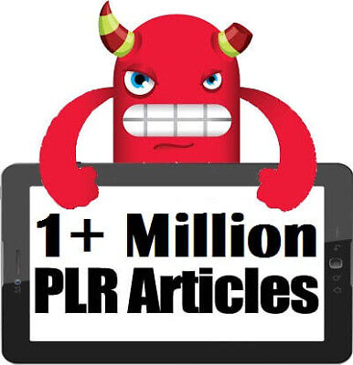 1 MILLION PDF PLR articles in Variety Topics with Resell Rights