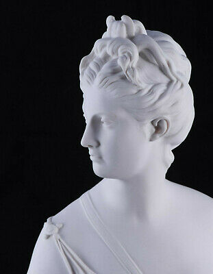 Marble Bust of Diana The Huntress, Classical sculpture, Gift, Art, Ornament.