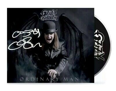 Ozzy Osbourne *SIGNED* Ordinary Man CD Deluxe Black Sabbath Rare OFFICIAL PROOF
