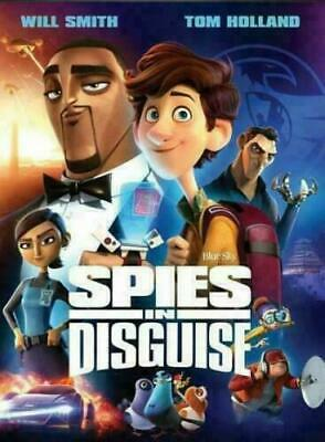 Spies In Disguise NEW DVD * FAMILY COMEDY ANIM * Now Shipping!