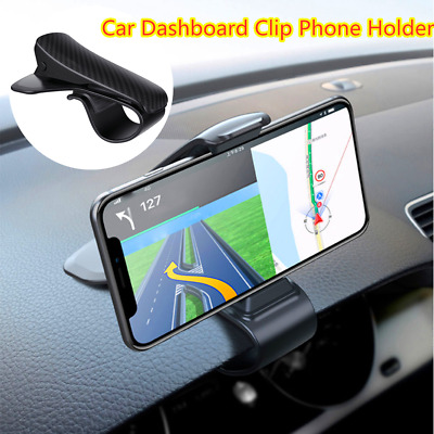 HUD Universal Car Dashboard Mount Clip Holder Stand Bracket For Cell Phone GPS