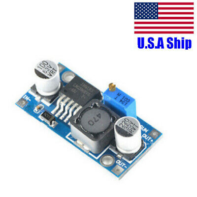 Mini 3A Dc-Dc Converter Adjustable Step Down Power Supply Module Replace LM25 fz
