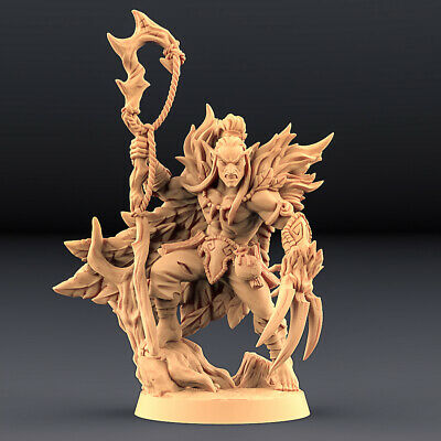 75mm Aline Miniature Dungeons and Dragons TabletopRPGs Warhammer Role Playing