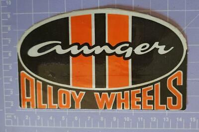 Aunger Alloy Wheels Sticker 13cm x 8.5cm approx As per image