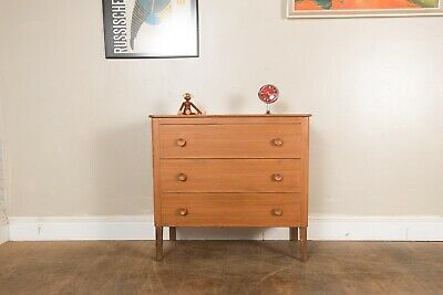 Vintage Light Walnut Chest of Drawers by Gordon Russell of Broadway for Heals