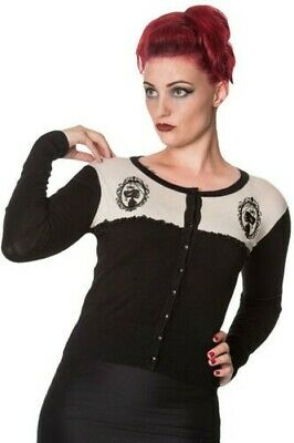 Black Vest and Off-White with Cameos Skull and Lace, Ret Banned