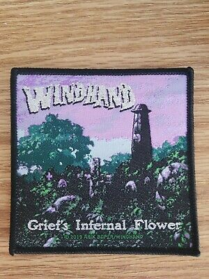 Windhand Offical Woven Patch LIMITED Electric Wizard Black Sabbath Doom Metal...