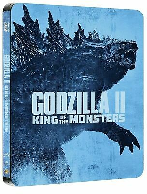 Godzilla King Of The Monsters (Bluray 3D) FAC Collectors Steelbook free delivery