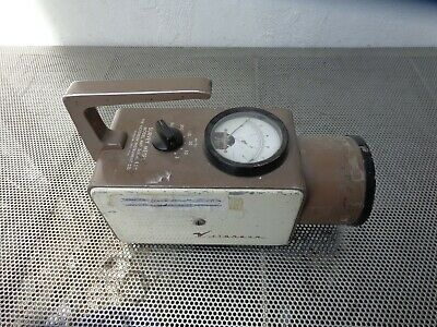 Victoreen 440 Radiation Contamination Survey Meter Nuclear Untested