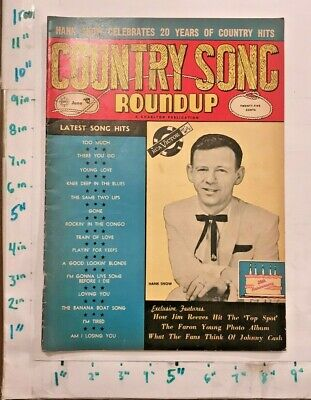 1957 Country Song Roundup Elvis Johnny Cash Hank Snow Minnie Pearl and more!!