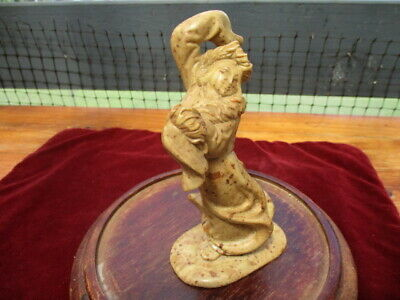 Vintage Chinese Soapstone Figure of the Moon Goddess