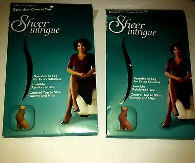 Intrigue polka dot pantyhose 20 den with backseam Black /& Linen Made in Europe