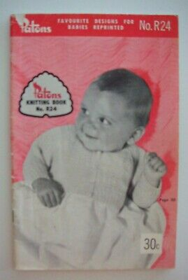 BABY Knitting Cardigans Jackets PATONS 588-3-4 Ply 1 Books B16 Jumpers