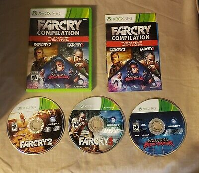 Complete In Box Cib Far Cry Compilation 2 3 Blood Dragon Xbox 360 17 99 Picclick