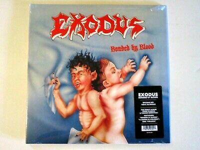 Exodus Bonded By Blood Lp 2019 Repress Opaque Red Vinyl Gate Fold Cover