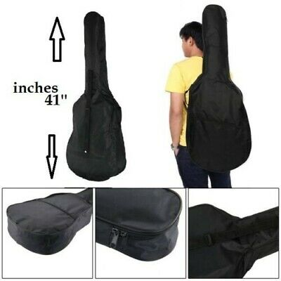 New Black 41'' Full Size Acoustic Classical Guitar Bag Case Cover Best-Quality